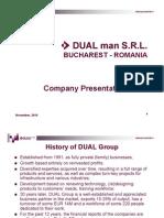 2010 DUAL MAN Presentation
