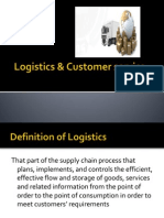 Logistics & Customer Service
