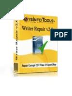 OpenOffice Writer Repair Software