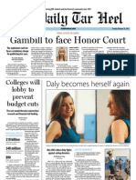 The Daily Tar Heel for February 26, 2013