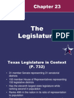 Ch 23 Texas Legislature
