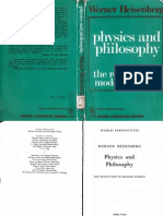 Physics And Philosophy  by Heisenberg