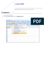 Using the ODBC Driver in Excel 2010