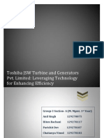 Toshiba JSW Turbine and Generators Pvt Limited