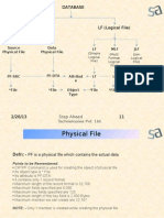 Presentation on Physical File.  DB2/400.