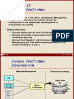 Invoice Verification
