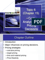 Lecture 6 Pricing