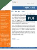 DCR Workforce March 2013 Trendline Report