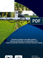 Farmers Pesticides Purchasing Behaviour