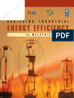 Achieving Industrial Energy Efficiency 2006