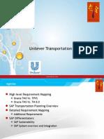 OTM 6.3 vs SAP TM 8