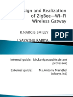 design and realization of zigbee-wifi gateway