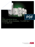Abb Acs800 Inverter Series Brochure