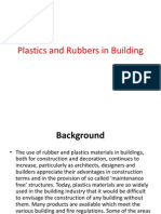 Plastics and Rubbers in Building