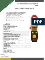 Clamp on Power Meters Waco 9106