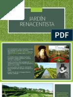 Jardín RENACENTISTA