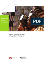 11 Pro Poor Services in Value Chain Promotion