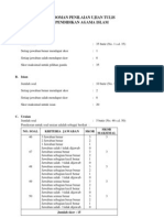Kisi-kisi & Pedoman Penilaian Ujian Praktik