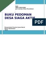 Buku Pedoman Desa Siaga Aktif