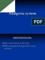 Analgesia System