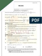 Maths-2B Previous question papers [Intermediate Education, Andhra Pradesh]