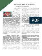 Vision Agroecologica Del Momento Historico