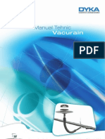 Vacurain - Manual Tehnic