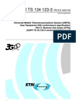 LTE technical specification