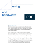Compressing Costs and Bandwidth