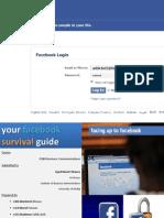 Presentation on Facebook