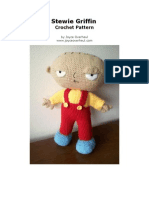 012 Stewie Griffin Family Guy Crochet Pattern