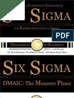 Six Sigma DMAIC Measure