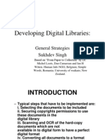Developing Digital Libraries