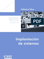 Implantación de sistemas de software llibre