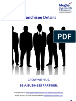 Franchisee Become Business Partner Brochure