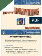 DERECHOS Y GARANTIAS CONSTITUCIONALES