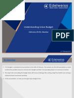 Understanding Union Budget