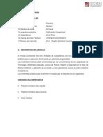 Analitico Del Modulo 1