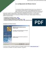 Instalación y configuración de VMware Server
