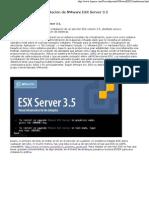 Instalación de VMware ESX Server 3.5