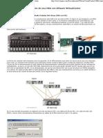 Configuración de una HP MSA 1000 con ESX
