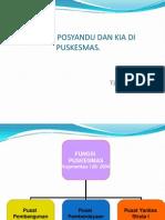 Revitalisasi Posyandu & Kia