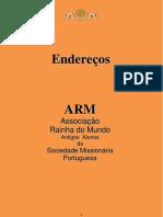 NIHIMO - ENDEREÇOS - Rev. 26-02-2013