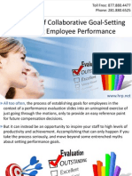 The Power of Collaborative Goal-Setting in Driving Employee Performance
