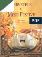 Servetele si mese festive