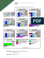 Calendari Escolar 2008 09
