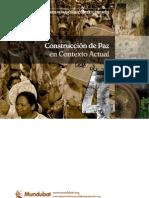 Construcción de paz en contexto actual
