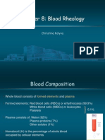 Blood Rheology PPT