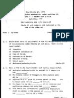 Indian Patent Agent Exam p1_sep2000