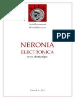 Neronia Electronica Fascicule 2